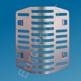 Spouwrooster Spouwsafe 6 cm RVS achterafvoegrooster prijs per stuk