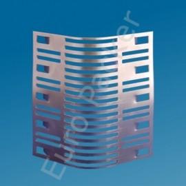 Spouwrooster SpouwSafe 24 cm RVS achterafvoegrooster prijs per stuk