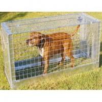 Inklapbare vangkooi voor honden-vossen