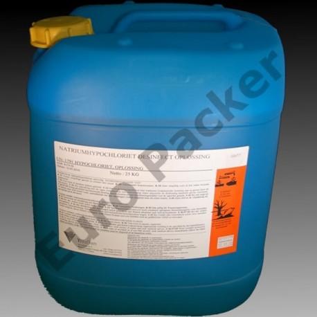 Chloor - Natriumhypochloriet (NaOCl) 20 kg